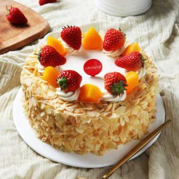 华尔兹蛋糕 酸奶提子夹心 φ25cm