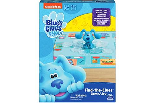 nickelodeon blue's clues find the clues,配对桌游