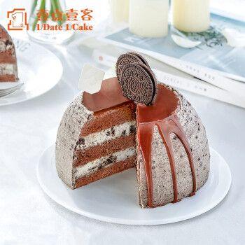 壹点壹客生日蛋糕网红款奥利奥鲜奶油巧克力蛋糕深圳同城配送 1.