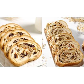 黑麦列巴果仁大列巴俄罗斯早餐切片全麦黑面包 坚果(葡萄干+核桃