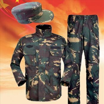 迷彩服 猎人迷彩服套装工作服加厚耐磨迷彩服数码军训