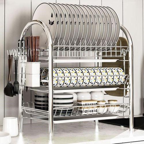 厨房置物架碗架碗筷沥水架碗碟沥水碗架盘子架洗放碗