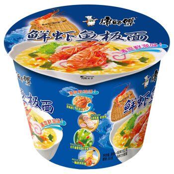 康师傅鲜虾鱼板面(海陆鲜汇)