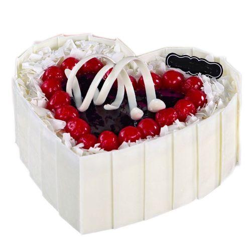 全国同城配送 生日礼物 送爱人 来宾崇左桂林南宁百色池蛋糕店 8英寸
