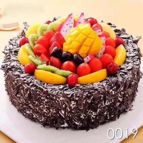 新鲜水果生日蛋糕浓情蜜意同城免费配送