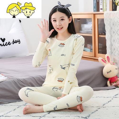 女童春装套装2020新款韩版女大童洋气卫衣两件套儿童装网红运动装_1