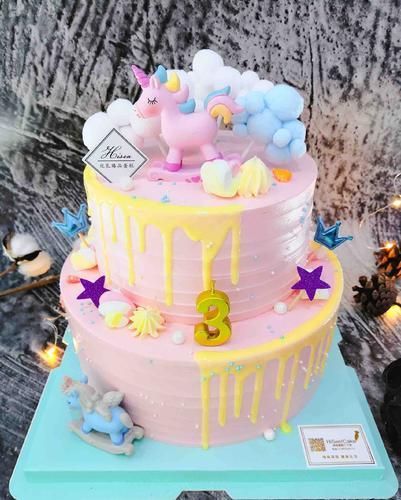 嗨森蛋糕一创意木马蛋糕