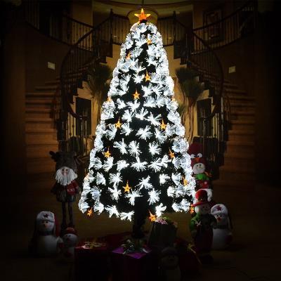 圣诞树光纤树家用发光圣诞树圣诞树2米圣诞树1.8米1.