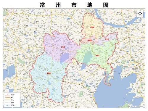 2020新款常州市地图贴图 办公室挂图 高清防水墙壁装饰画定制地图