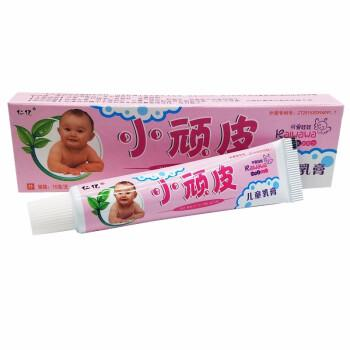 仁亿小顽皮儿童乳膏 宝宝儿童维肤膏小顽皮软膏【10支