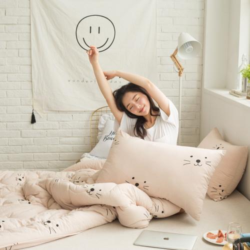 2020新款床上用品暖绒磨毛冬被舒适保暖被家纺 150x200cm 小甜心