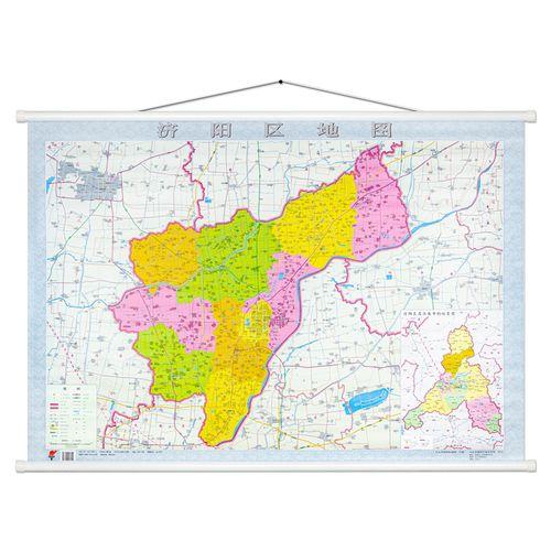 2020新版 济阳区地图 高清现货 带杆约1108米 山东省济南市济阳区