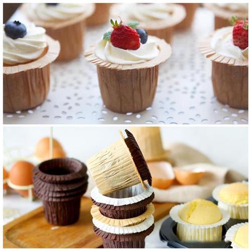模具杯蛋糕纸杯耐高温杯子玛芬纸杯蛋糕托一次性草帽