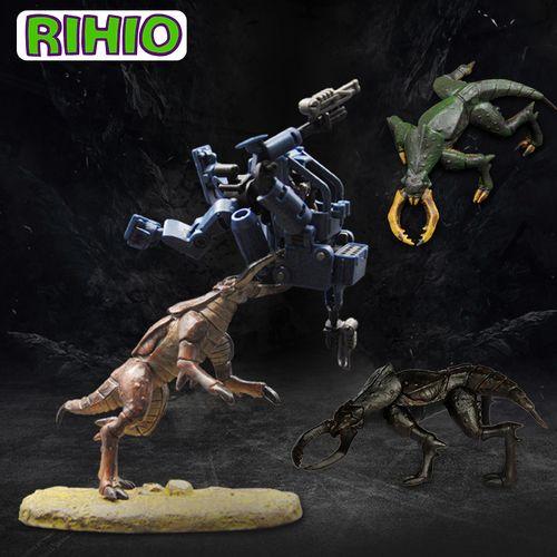 rihio 无限深远手办玩具异星猛兽系列塑胶模型小怪兽