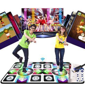 超清款跳舞毯双人单人跳舞机家用电视体感游戏机高清加厚炫舞跑步毯