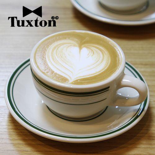 美国tuxton咖啡杯ins拿铁杯卡布美式摩卡专业咖啡拉花