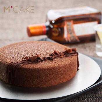 mcake巧克力慕斯君度可可生日蛋糕上海杭州苏州同城配送 巧克力