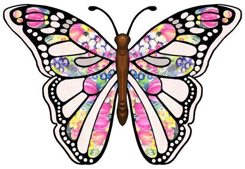 butterflies cartoon butterfly clipart 5
