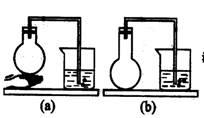 a类:固 固加热或固(液) 液加热装置 ,气密性检查方法是: a手热法:如