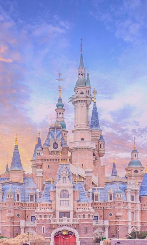暑假相约上海迪士尼高清图片手机壁纸