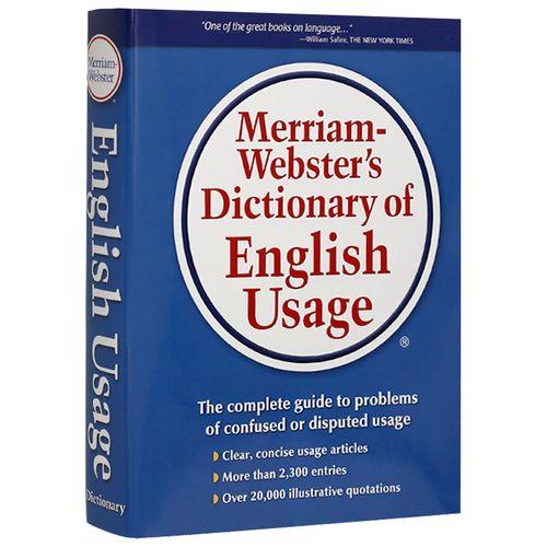 预订英文原版 merriam webster s dictionary of en 韦氏英语习搭配