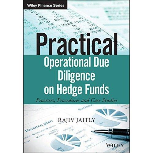 【预订】practical operational due diligence on hedge funds